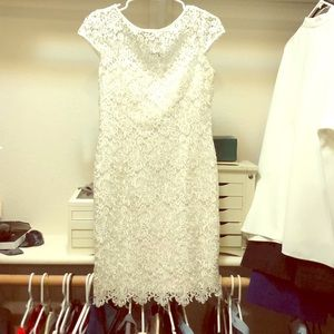 White lace dress only worn once